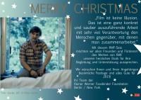 Weihnachskarte RWFF 2014 DE